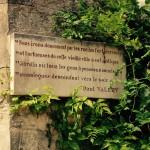 La Poésie tient une place majeure dans un Jardin